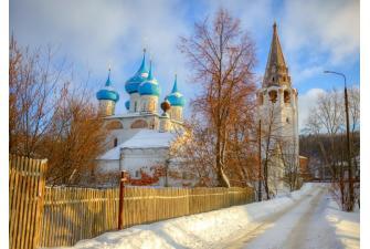 На графских развалинах и Городок-на-горошине (Судогда-Вязники-Гороховец, с осмотром готического замка и приемом у Царя Гороха, автобусный, 2 дня)
