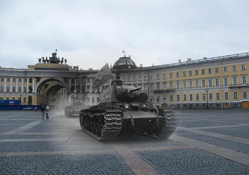 фотосессия на танках в спб однолетнее