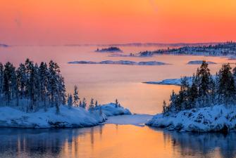 Зимние каникулы в Карелии ( 3 дня+жд)