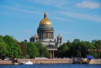 Три дня с Петербургом (май-октябрь, 3 дня + ж/д)