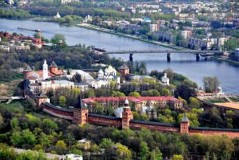 Майские праздники в Пскове и Великом Новгороде (3 дня + ж/д)