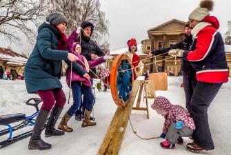 Масленица в Смоленске на Ласточке ( 2 дня + жд)