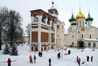Северо-Восточная Русь («Святой Георгий 4*») ( 3 дня, автобусный тур) Новогодние каникулы