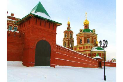 От Казанской губернии до стольных волжских градов ( 5 дней + ж/д, осень-зима )