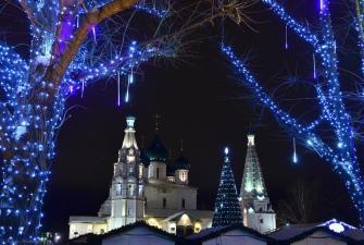 Новый Год в Ярославле - «Святой Георгий 4*» (3 дня, автобусный тур)
