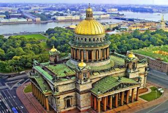 Классика Санкт-Петербурга ( 5 дней + ж/д, пятница-вторник )