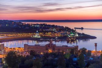 Гранд тур - 8 жемчужин на Волге (весна-лето, 7 дней + ж/д)