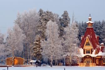 Новогоднее путешествие по Волжским городам (3 дня, автобусный тур)