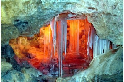 Легенда о Каменном царстве (приключенческий тур с посещением Чертова городища и путешествием в Кунгурскую ледяную пещеру, 4 дня + авиа или ж/д) Зима