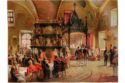 Большой Кремлевский дворец (гранд-тур в парадную резиденцию президента РФ Большой Кремлевский дворец и Грановитую палату)