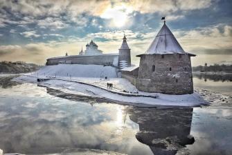 Псков с отдыхом на Псковском озере (7 дней + ж/д)