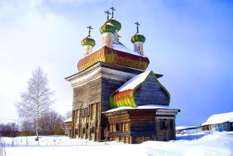 Каргополь - Великий Устюг - Сольвычегодск (4 дня+ж/д, август-декабрь 2021)