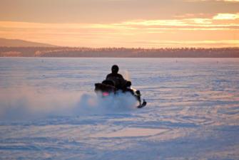 Снегоходный тур в Хибинах (3 дня+ж/д)