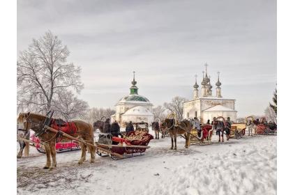 3 дня на Владимирской земле, Русская деревня 3*  (3 дня, автобусный тур), Новогодний заезд.