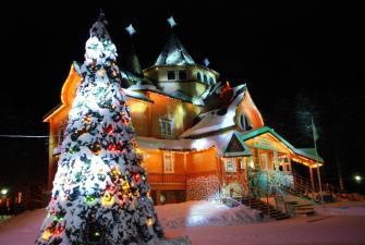 Новогодний фейерверк! Встречаем Новый 2022 год у Деда Мороза в Великом Устюге (4 дня + ж/д )