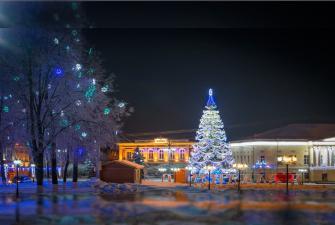 Новый год во Владимире г-ца Русская деревня 3* (3 дня, автобусный тур)