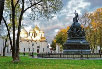 Два Кремля. Великий Новгород - Псков (4 дня + ж/д, май - август)