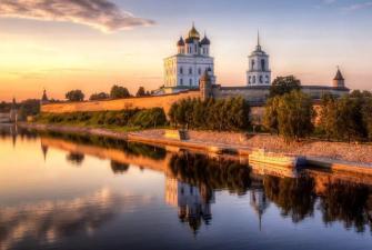 Майские праздники в Пскове (3 дня + ж/д)