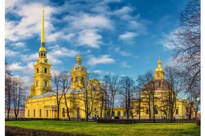 Три дня с Петербургом (3 дня + ж/д, октябрь - апрель)