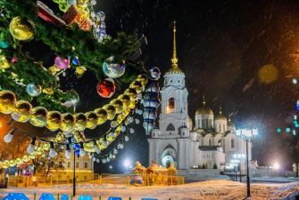 Новый год во Владимире г-ца Амакс Золотое кольцо 3* (3 дня, автобусный тур)