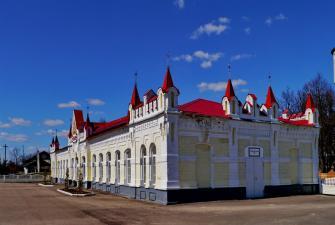 На днепровских кручах Смоленск-Талашкино-Новоспасское на «Ласточке» (3 дня + ж/д)