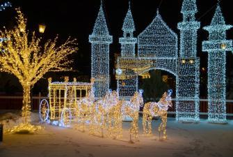 Новогодние каникулы в Казани (6 дней + ж/д)