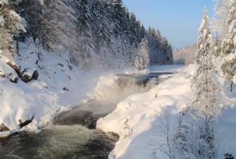 Все водопады Карелии в 1 туре  (4 дня + ж/д ) Отправление из Санкт-Петербурга
