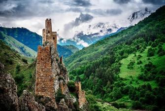 Встречи с чудесами Кавказа (5 дней + ж/д или авиа)