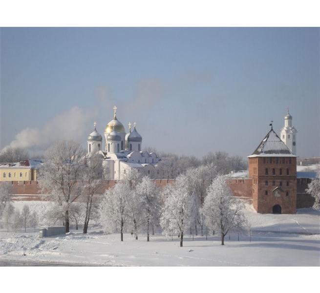 Картинки зима великий новгород
