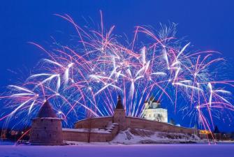 Новый год в Пскове (5 дней + ж/д)