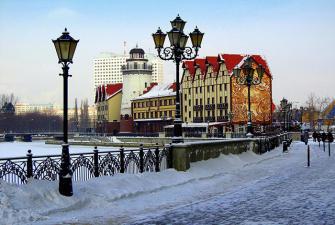 Экспресс тур в Калининград по цене ужина (2 дня + авиа или ж/д, зима-весна)
