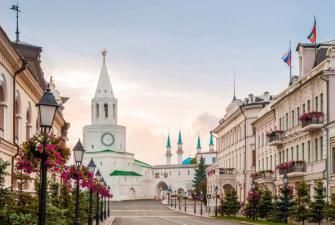 Встречай, Казань! (весна - лето, 3 дня + ж/д)