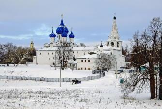 Новый год в Суздале - «Сокол 3*» (3 дня, автобусный тур)