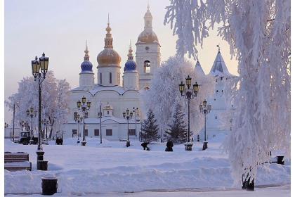 Во глубине сибирских руд... (Тобольск  - Покровское - Абалак -  Ялуторовск - Тюмень с выездом на буровую установку и обрядом посвящения в нефтяники, 3 дня, авиа)
