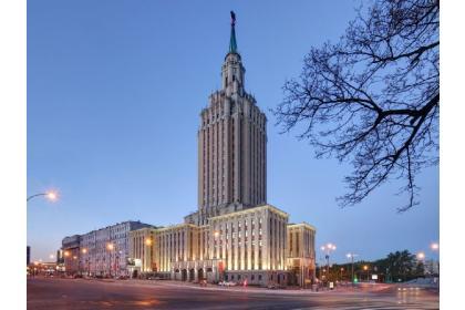 С Ленинградской высоты... (пешеходная, с посещением внутренних интерьеров гостиницы Ленинградская)