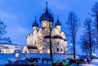 Владимирское княжество, «Золотое кольцо 3*» (2 дня, автобусный тур), Новогодние каникулы
