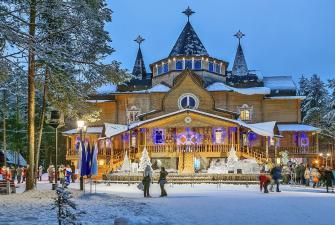Мандарины и шампанское!! Встречаем Новый 2021 год у Деда Мороза в Великом Устюге (3 дня + ж/д )