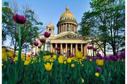 8 марта в Санкт-Петербурге (5 дней, автобусный тур)