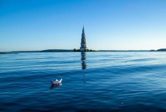 Подводные тайны Калязина, или Город под водой (с теплоходной экскурсией по Волге и посещением пункта космической связи Корпоративный)