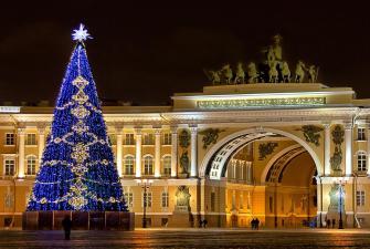Новогодний Санкт-Петербург ( 4 дня + ж/д )