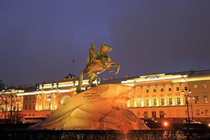 Классический Санкт-Петербург с пт  (4 дня + ж/д, октябрь 2020 - апрель 2021)