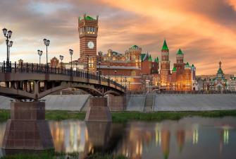 Республики без границ – Казань – Чебоксары – Йошкар-Ола (весна-лето, 5 дней + ж/д или авиа)