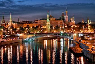 Волшебный вечер на Москве-реке (3-х часовая вечерняя речная прогулка на теплоходе, с великолепным ужином под живую музыку)