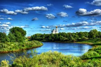 Кружевная Вологда, купола из золота (2 дня + ж/д)