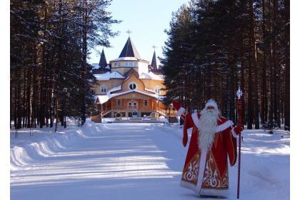 В краю сосен и берёз ожидает Дед Мороз ( 2 дня + ж/д )