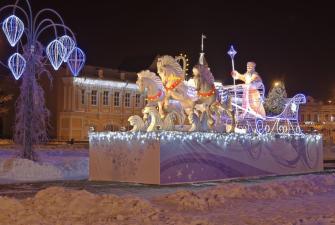 Встреча Нового года в Вологде (3 дня + ж/д)