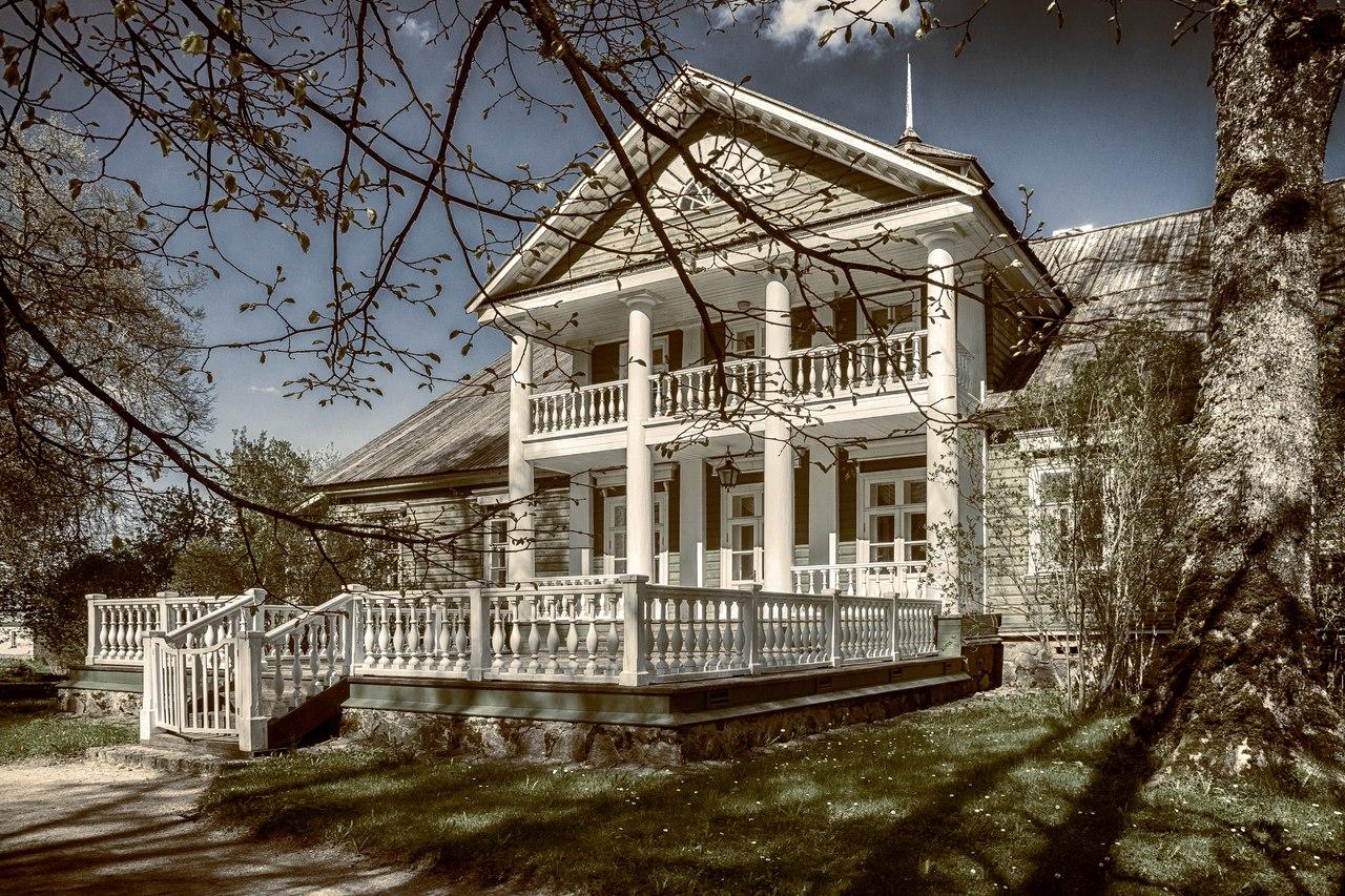 Дом пушкина в михайловском фото